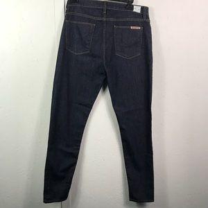 Hudson dark wash skinny denim jean